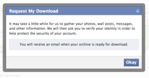 Facebook Private Information Data collected by Facebook