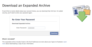 Facebook Enhanced Archive
