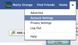 Remove Ads from Facebook Step 1