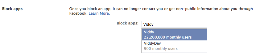 Remove viddy