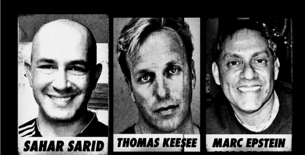 Sahar Sarid, Thomas Keesee, Marc Epstein